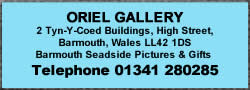 Oriel Gallery Barmouth High Street